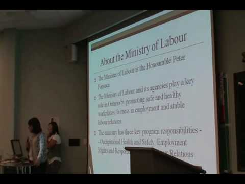 Ministry of Labour Job Info Session Part 1