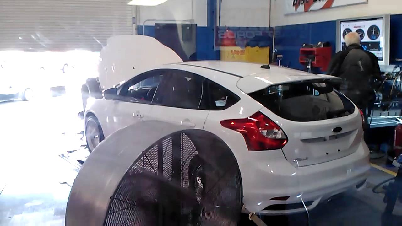 400 Hp Ford Focos At Shelby