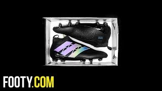 adidas dark space pack ace 16 purecontrol blackout fg unboxing