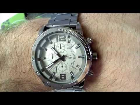 6fc8abc99ce Pánské hodinky Bentime Steel 027-9682A   Mens Watch Bentime Steel 027-9682A  (unboxing)