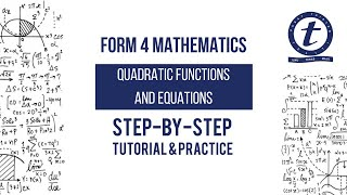 Form 4 Mathematics Chapter 1 Quadratic Functions and Equations Lesson 1 Tutorial and Practice