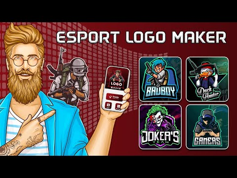 HOW TO MAKE A PROFESSIONAL GAMING/ESPORTS LOGO FOR FREE In this video I teach you how you can make a.