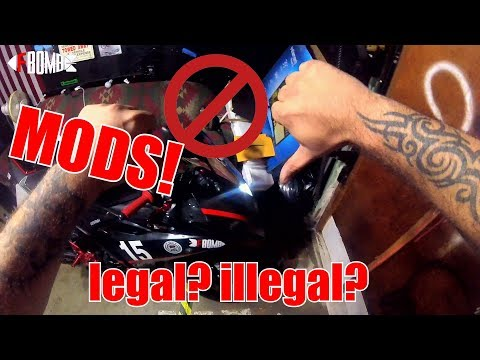 Legal & Illegal Motorcycle Mods