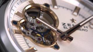 Zenith El Primero Synopsis Open Dialed Watch | aBlogtoWatch