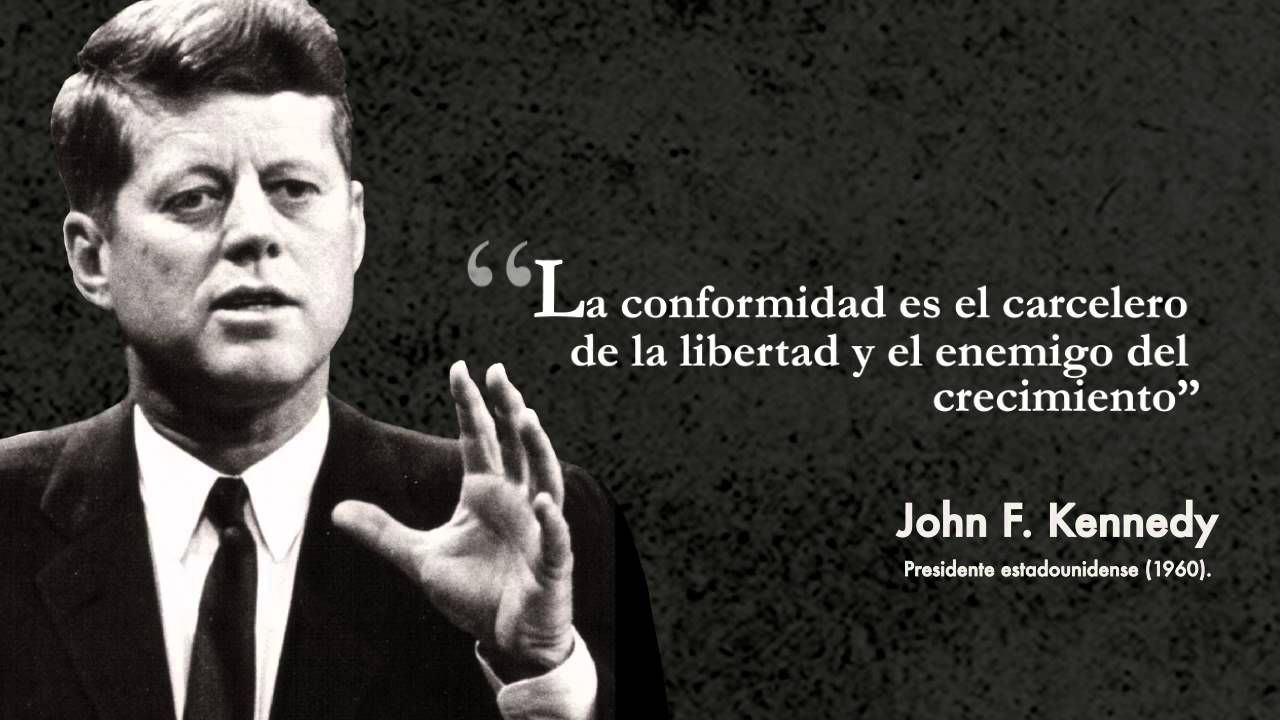 Frase Célebre John F Kennedy Youtube