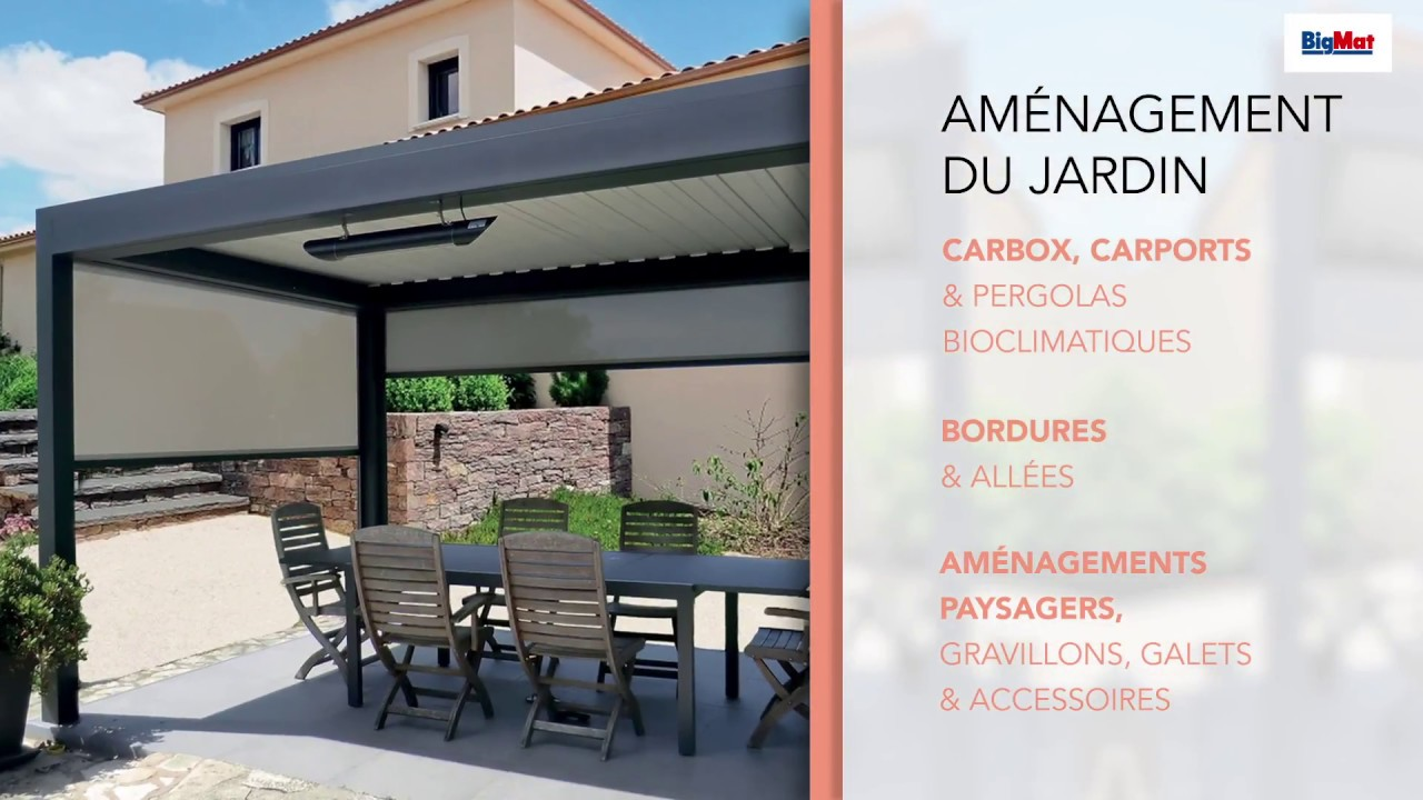 Amenagement Exterieur Youtube Catalogue Amenagement Exterieur 2018 - Bigmat - Youtube