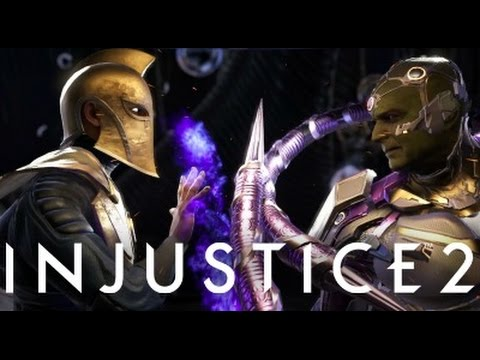 Thumbnail: Injustice 2 - Dr Fate Vs Boss Brainiac (Arcade Boss)