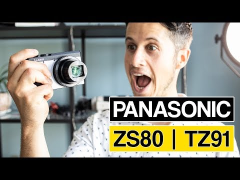 Panasonic ZS80 | TZ91 Compact Travel Camera With Selfie Display