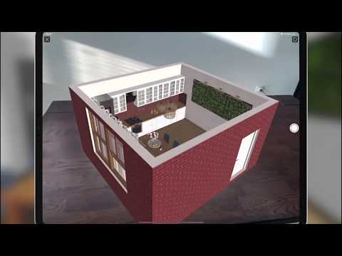 Viewing 3D Models in AR with Live Home 3D