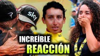 Las Emotivas Reacciones Tras El Triunfo Del Ciclista Colombiano Egan Bernal