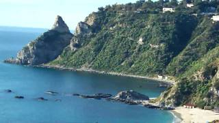 Video from WebCam Capo Vaticano Calabria near Tropea Isole Eolie Stromboli