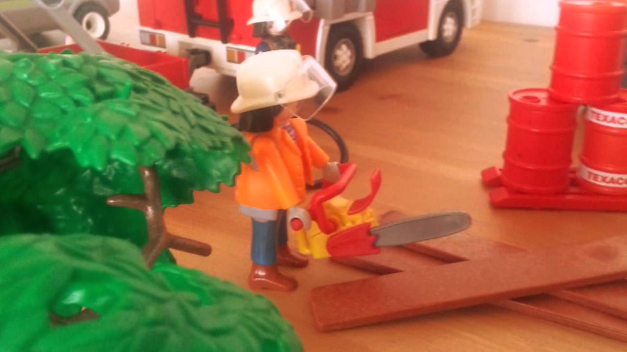 playmobil feuerwehr bilder film youtube. Black Bedroom Furniture Sets. Home Design Ideas