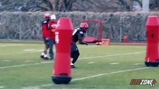 Utah Spring Football Practice Clips - Day 3