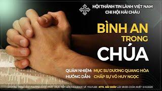 HTTL HẢI CHÂU - Chương trình thờ phượng Chúa - 05/04/2020
