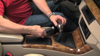 Replacing a shift knob in a BMW or MINI