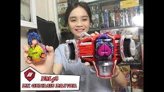FM48ISpiderman Girl TOy I Đồ chơi siêu nhân I DX GENASIS DRIVER I Siêu nhân trái cây