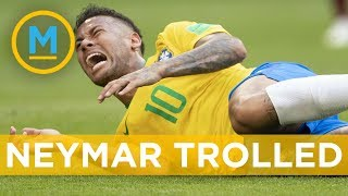 Brazil's Neymar getting trolled online for over-acting against Mexico | Your Morning thumbnail