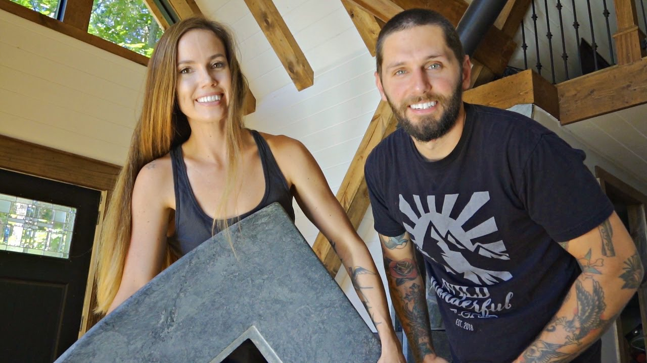 Download Adding Soap Stone To Our Off Grid A-Frame Home