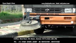 Sweeping Machine India/Truck Mounted Sweeper/Road Sweeper