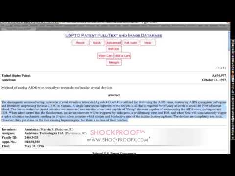 "The ""SECRET"" behind ""U.S. Patent #5676977""  #5676977"