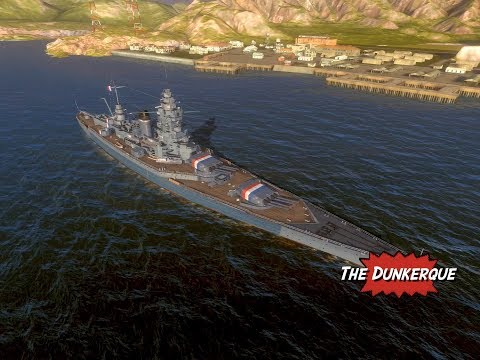 Dunkerque Premium French Battleship Review World of Warships Blitz
