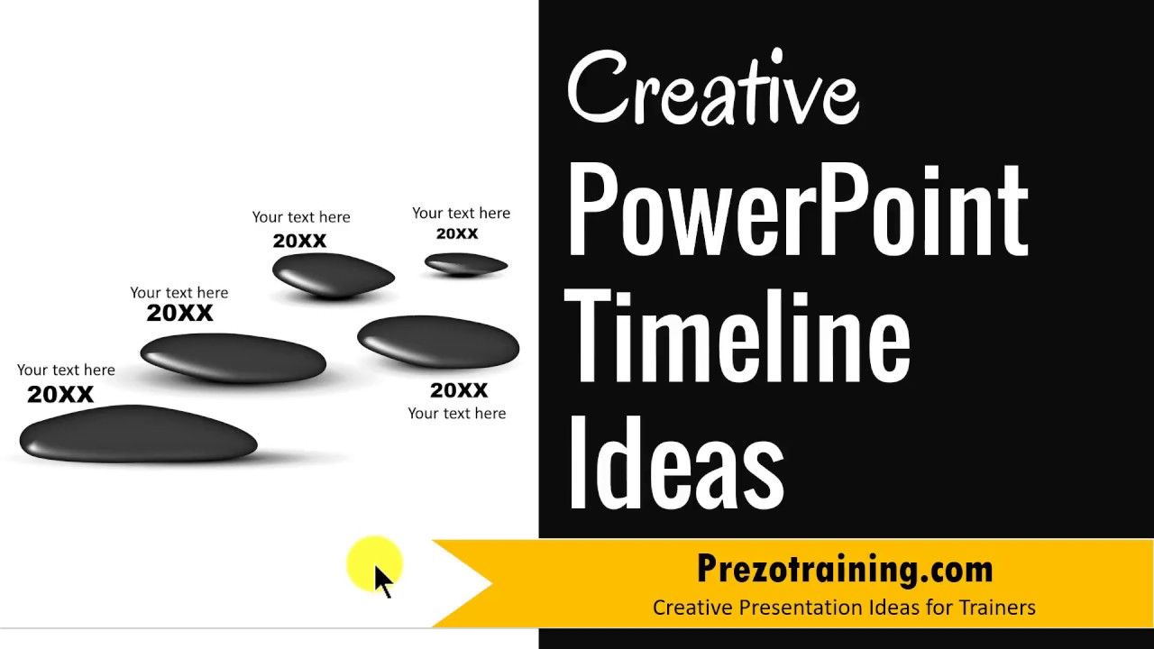 creative powerpoint timeline ideas