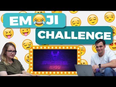 EMOJI CHALLENGE на мировые английский хиты | Английский по песням | Space Deer Show