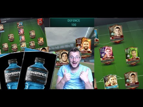 FIFA Mobile Full Global Tour Master Team! Plus New Powerade Event and FIFA Champion Gameplay!