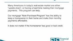Mortgage Note Purchase - Principal Reduction Program