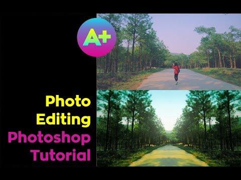 Photo Editing in PHOTOSHOP / Tutorial 2 thumbnail