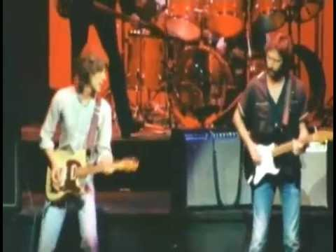 Jeff Beck and Eric Clapton Secret - Cause We've Ended As Lovers - (Policeman's Other Ball)