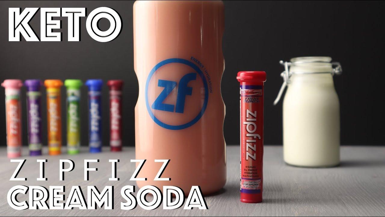 Keto Zipfizz Cream Soda • Get those electrolytes in!
