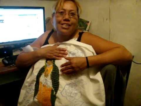Bordado Fantasía Manto Virgen Guadalupe Youtube