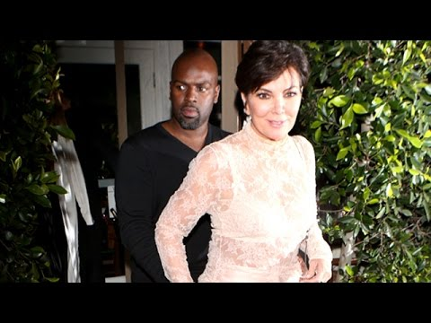 Kris Jenner And Corey Gamble Enjoy A Romantic Dinner
