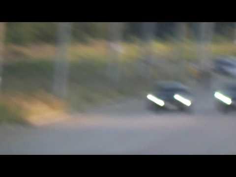 Mazda3 MPS vs MB 500 race 2