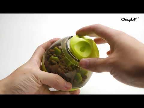 IQ Treat Ball Interactive Food Dispensing Dog Toy Pet Toy Ball Dog Food Dispenser