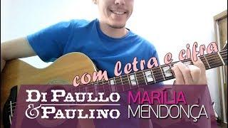Baixar (Karaokê) ESTRELINHA - Di Paullo & Paulino/Marília Mendonça - Violão Instrumental (com letra, cifra)
