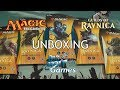 Magic The Gathering: Guilds of Ravnica Theme Boosters Unboxing