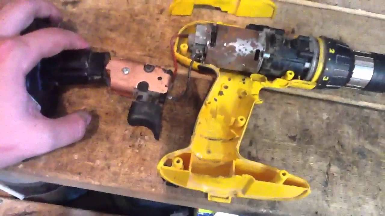 Dewalt Dw 995 Drill Trigger Replacement Youtube