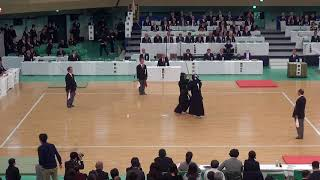 65th All Japan Kendo Championship 27   Round 1, Harada vs Sakata