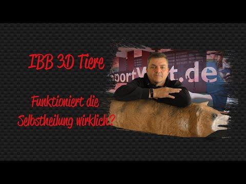 IBB 3D Tiere mit Selbstheilung - Funktioniert es wirklich? Wir testen es für euch!