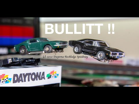 Bullitt (HO Caliber) … Slot Car Rendition of Movie Car Chase!