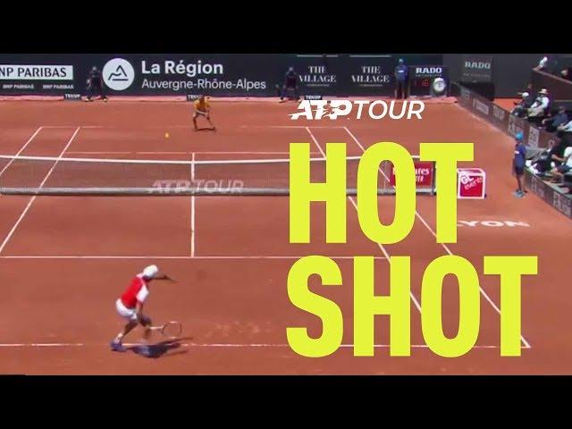 Hot Shot: Bautista Agut's Good Movement   Lyon 2019