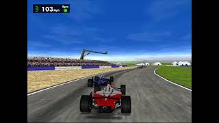 ► F1 Racing Simulation (PC, 1997) | Gameplay