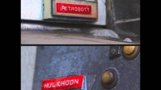 Retrogott & Hulk Hodn - Diefragebleibtgeschlossen