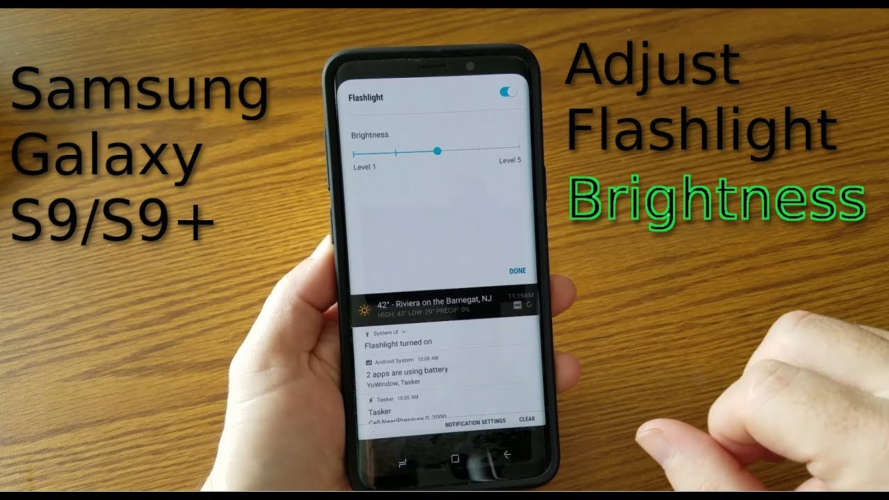 flashlight android samsung galaxy