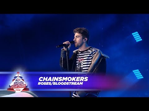 Chainsmokers - 'Roses / Bloodstream' (Live At Capital's Jingle Bell Ball 2017)