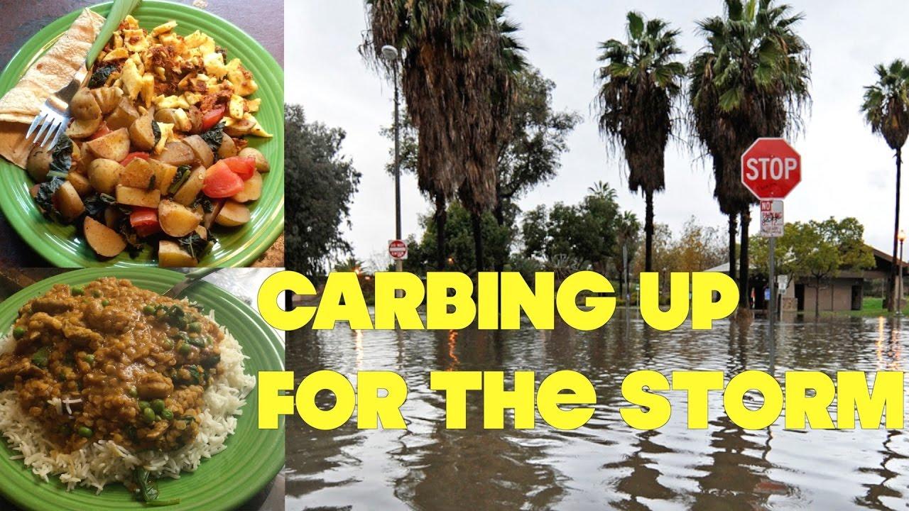 What We Ate Surviving LA's Killer Rain Storm