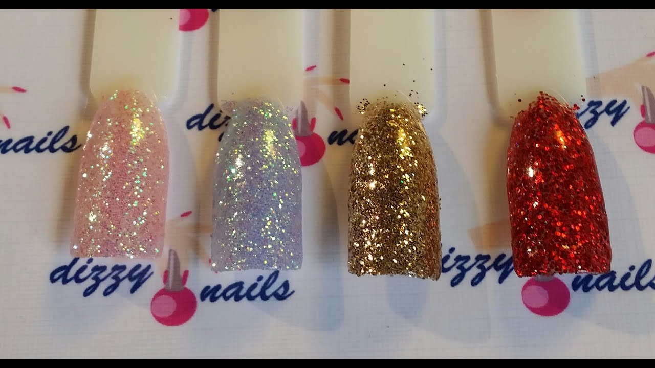 Ultimate Rock Star Nails New Way On How To Ly The Lecente Glitters With Your Cnd Shellac
