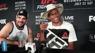 Alex Oliveira Explains Why He Left the Octagon after KO Win at UFC on FOX 25 - MMA Fighting